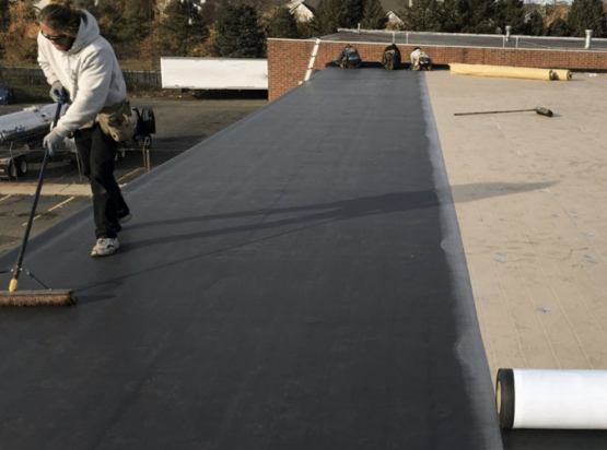 rubber roof nashua